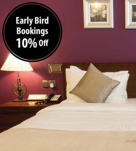 Early Bird – 10% off
