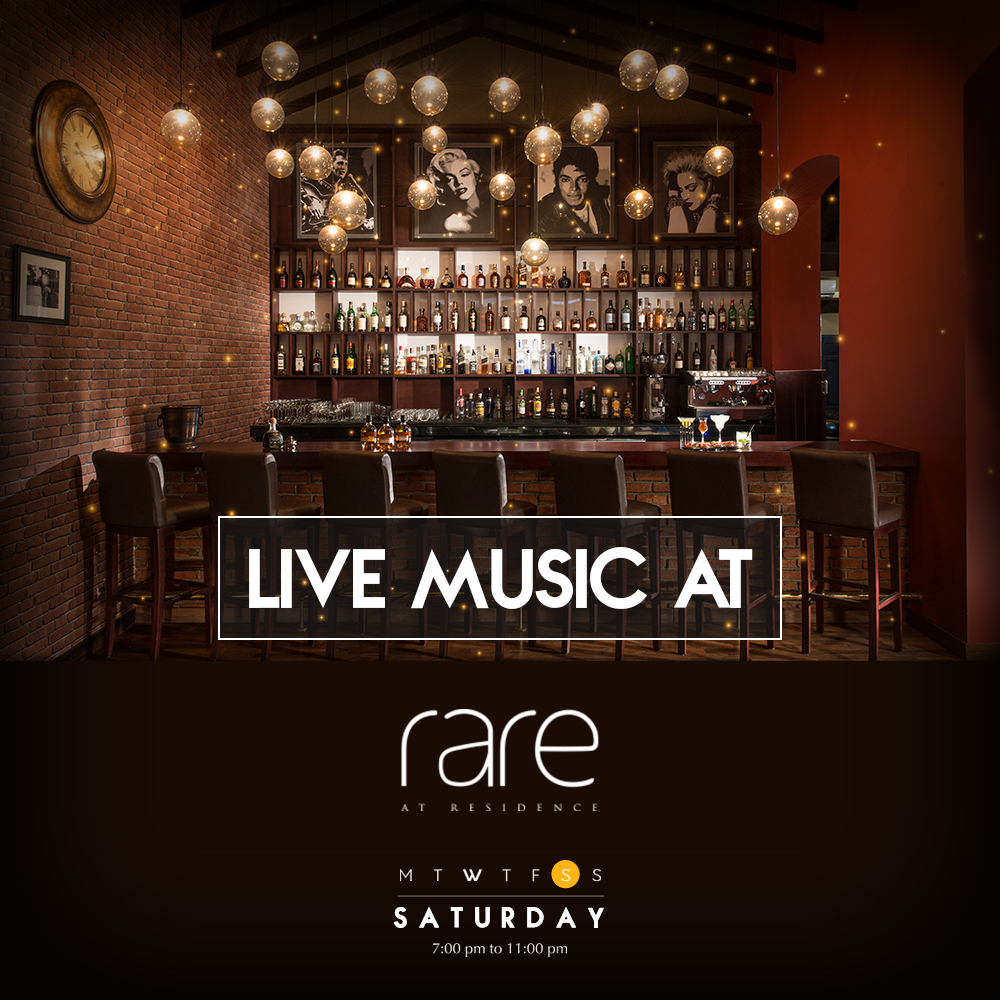 Saturday Nights with Live Music at Rare at Residence