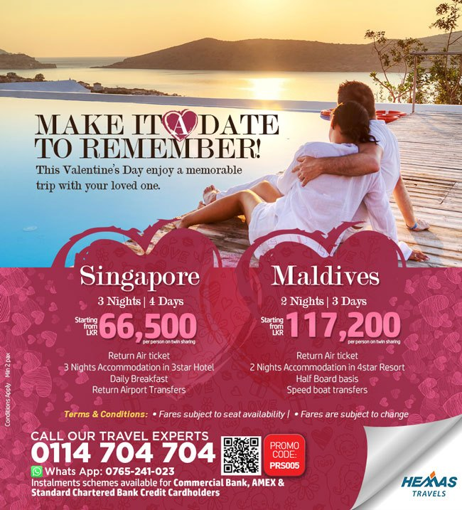 Valentines Special Romantic Tour Packages to Maldives