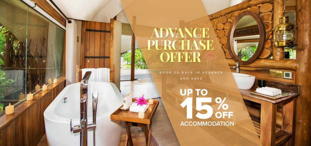 Advance Purchase Offer at Chena Huts