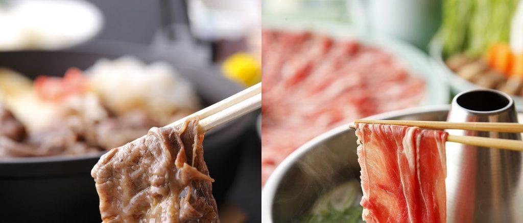 Hokkaido Wagyu Sukiyaki or Shabu-shabu Dinner Set